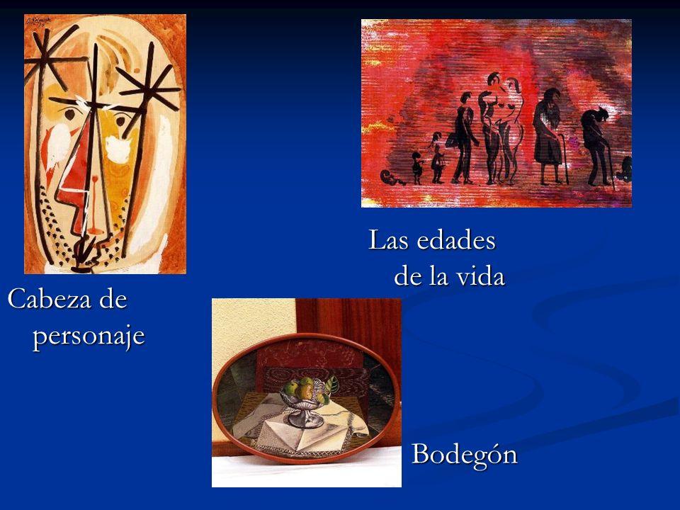 Cabeza de personaje Las edades de la vida Bodegón