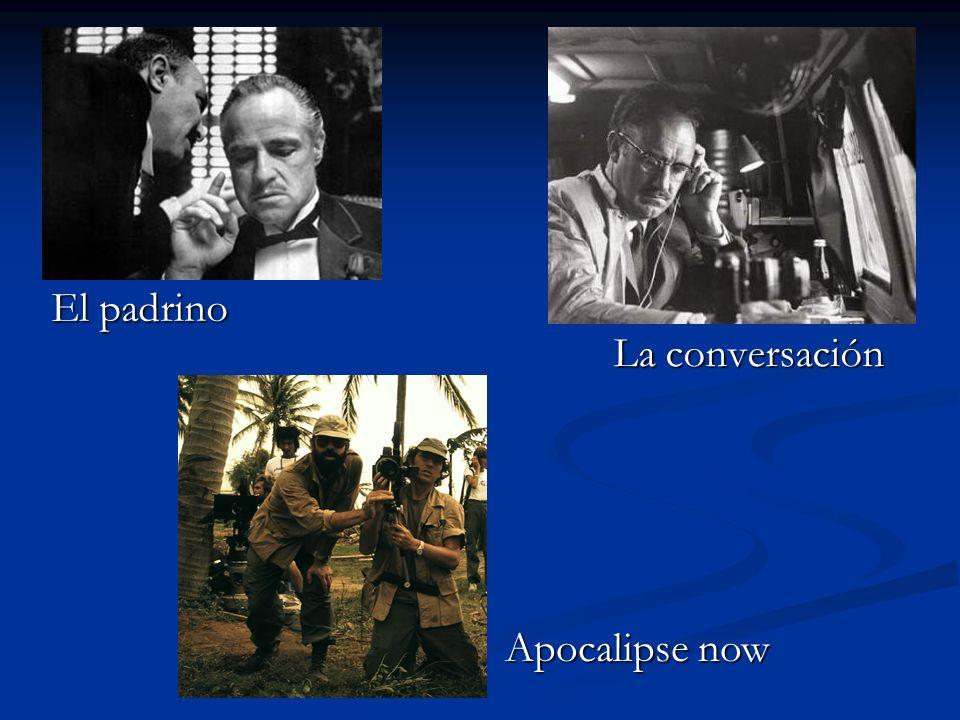 La conversación El padrino Apocalipse now