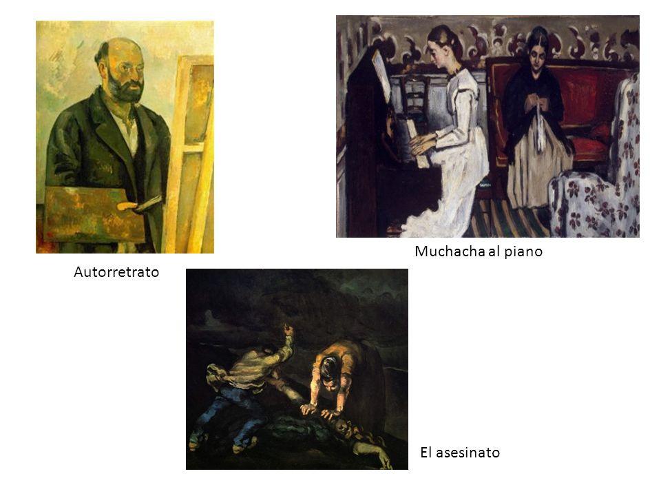 Autorretrato Muchacha al piano El asesinato