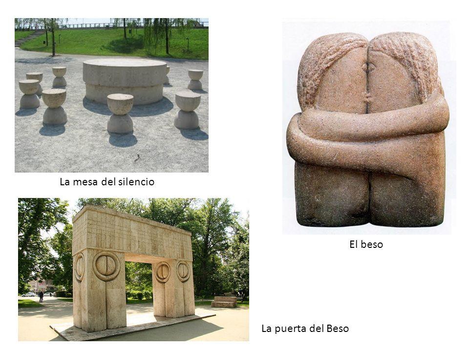 La mesa del silencio El beso La puerta del Beso