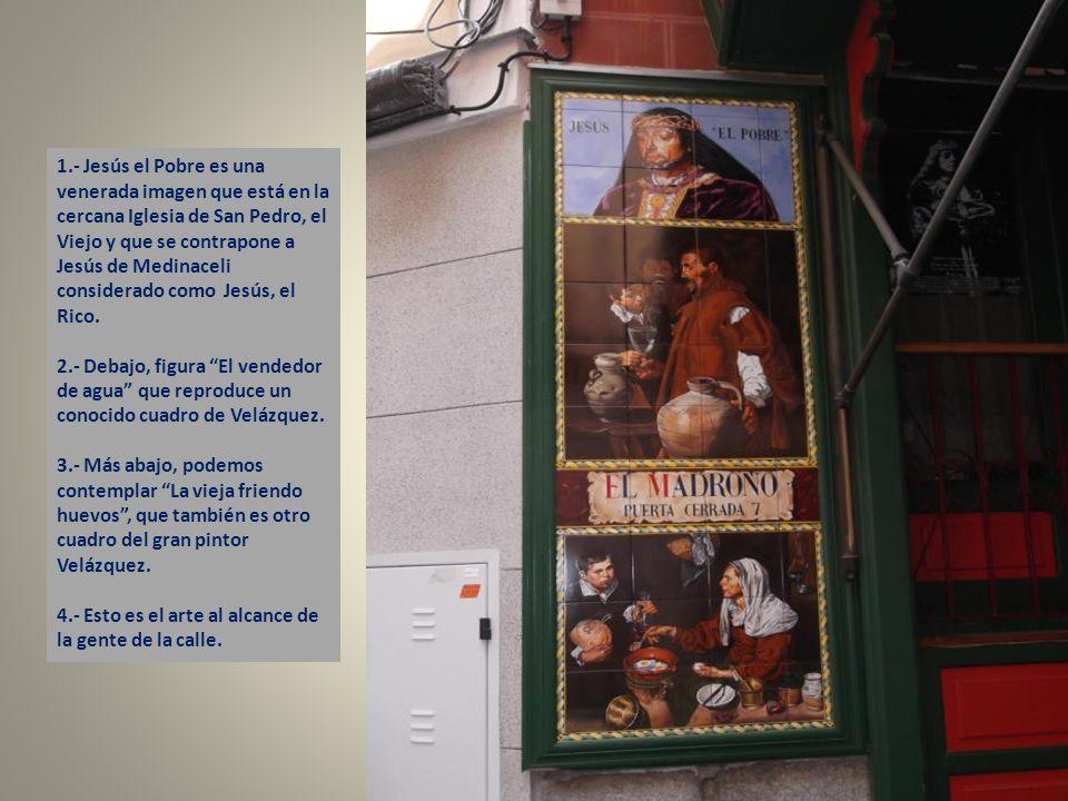 Aquí podemos contemplar una reproducción de Los Borrachos de Velázquez.