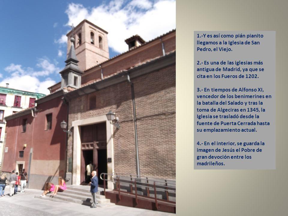 3.- La Iglesia de San Pedro, el Viejo y su Torre mudéjar.