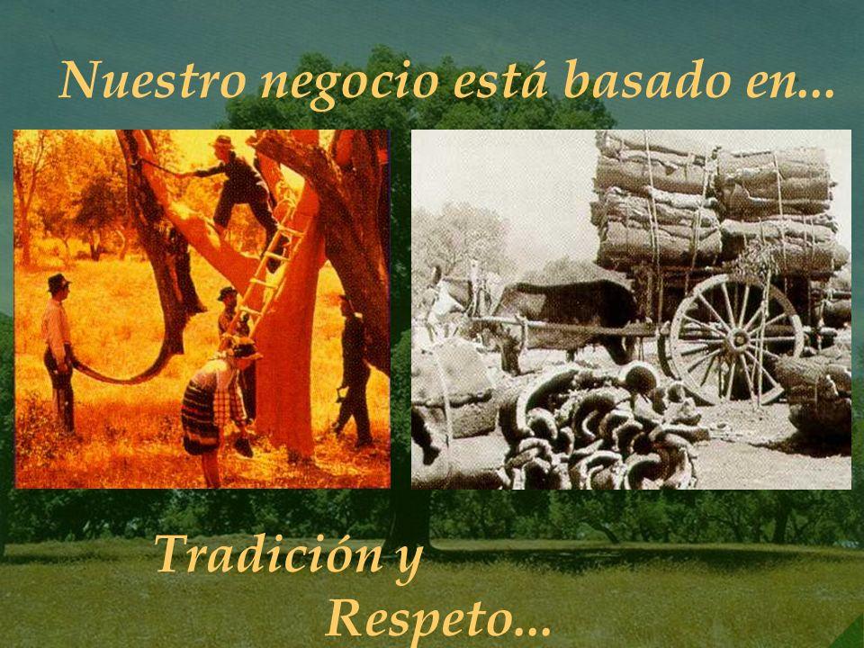 4 Nuestro negocio está basado en... Tradición y Respeto...