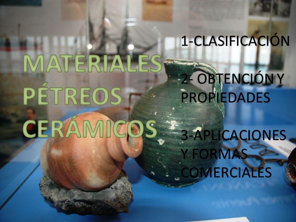 2- OBTENCIÓN Y PROPIEDADES 3-APLICACIONES Y FORMAS COMERCIALES 1-CLASIFICACIÓN