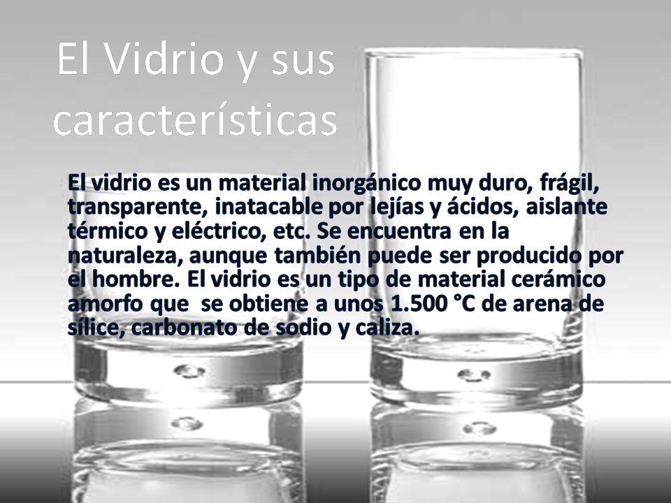 El Vidrio y sus características