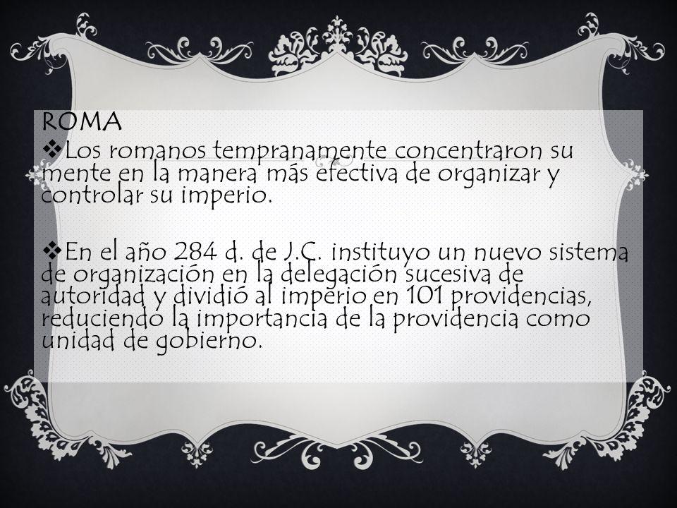 LA ADMINISTRACIÓN DURANTE EL PERIODO MEDIEVAL