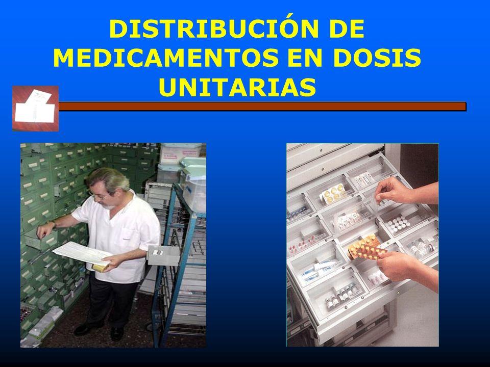 DISTRIBUCIÓN DE MEDICAMENTOS EN DOSIS UNITARIAS