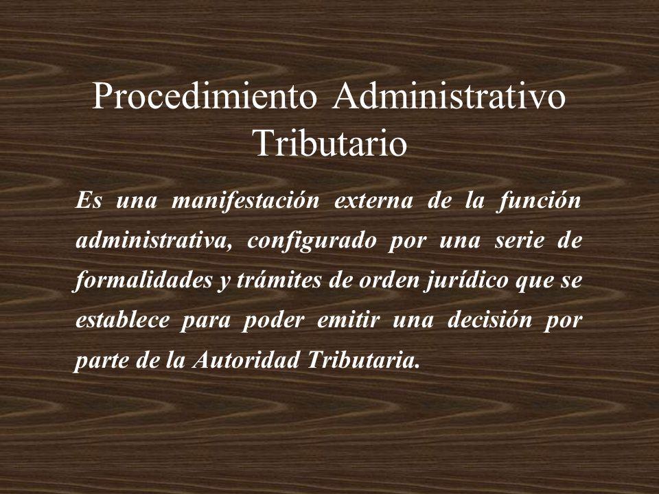 Es una manifestación externa de la función administrativa, configurado por una serie de formalidades y trámites de orden jurídico que se establece par