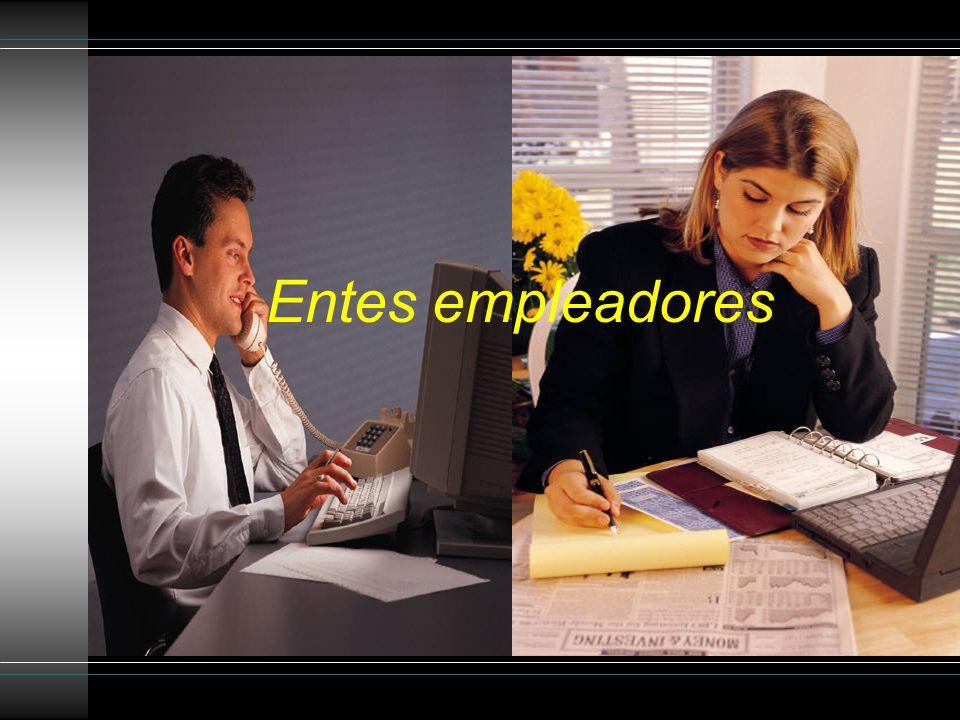 Entes empleadores