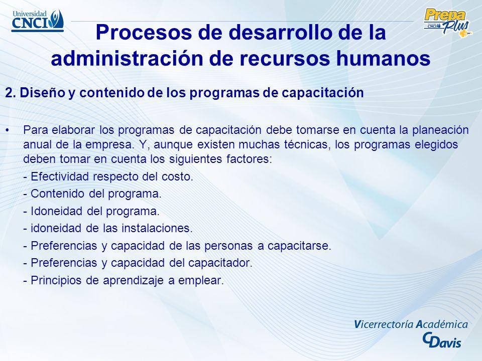Procesos de desarrollo de la administración de recursos humanos De entre los métodos y técnicas de aprendizaje, la gran mayoría se enriquece y apoya en la computadora, la cual cumple con los siguientes propósitos: - Como herramienta de programación.