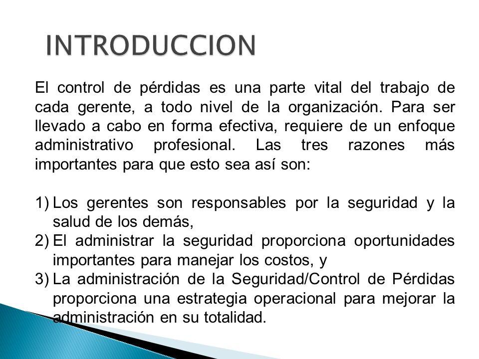 Al seleccionar las medidas de control deben considerarse los siguientes factores: 1.