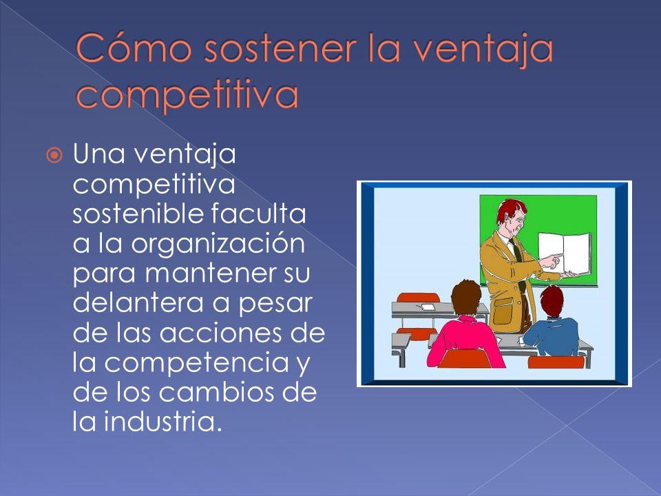 Michael Porter – en su marco de estrategias competitivas se identifican tres estrategias genéricas para que escojan los gerentes.