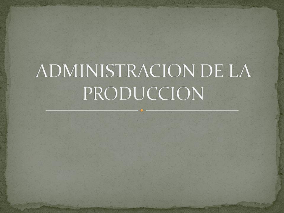 Todos lo administradores se ocupan en la planeación la organización y el control,son los administradores de operaciones quienes tienen la responsabilidad directa de conseguir que el trabajo se realice.
