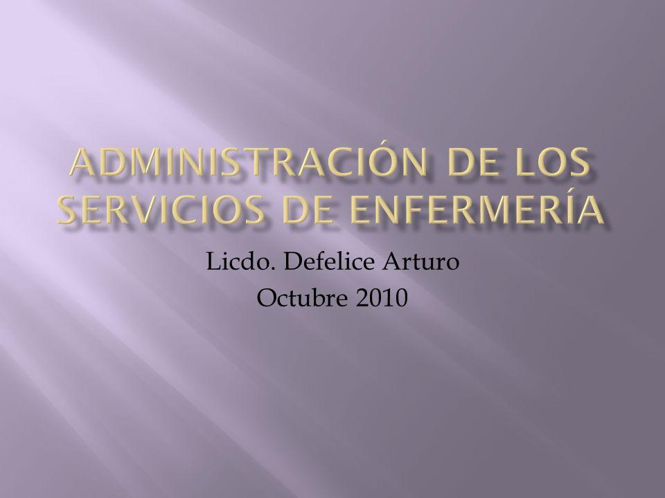 Licdo. Defelice Arturo Octubre 2010