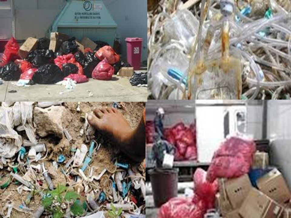 MANEJO DE DESECHOS HOSPITALARIOS HOSPITAL GENERAL ENRIQUE GARCES El Problema en el Ecuador Realizado po: Dra.