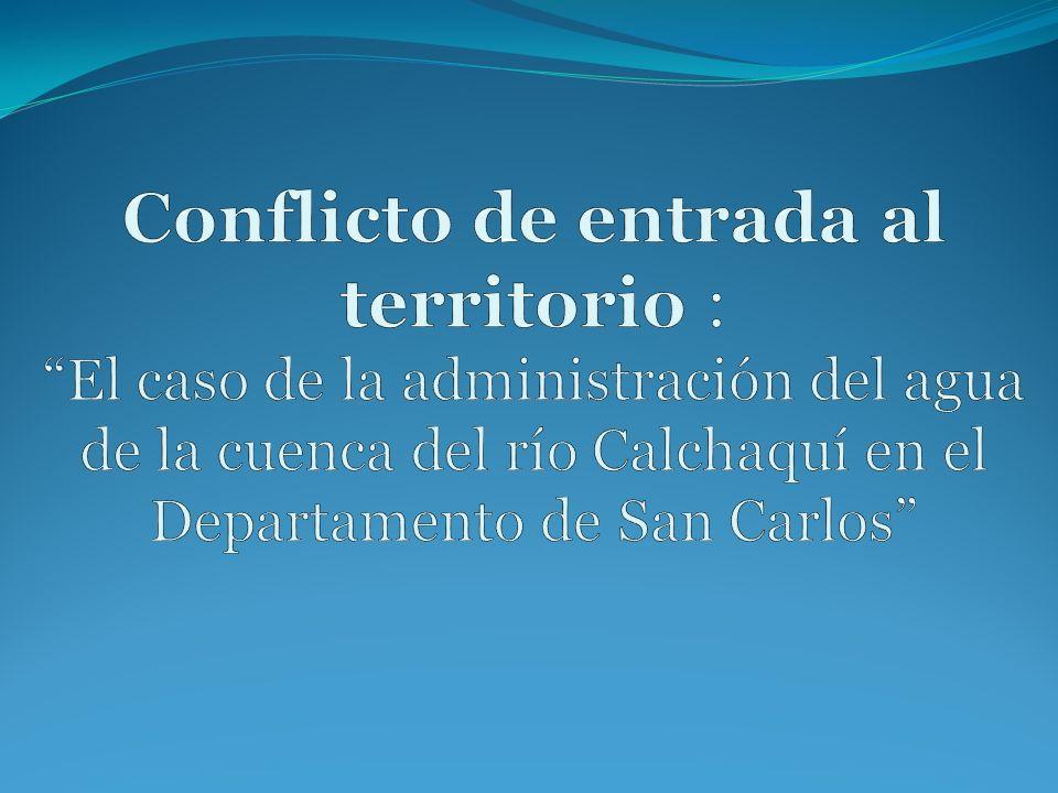 Primer recorte espacial departamento de San Carlos, Salta Angastaco San Carlos Animaná