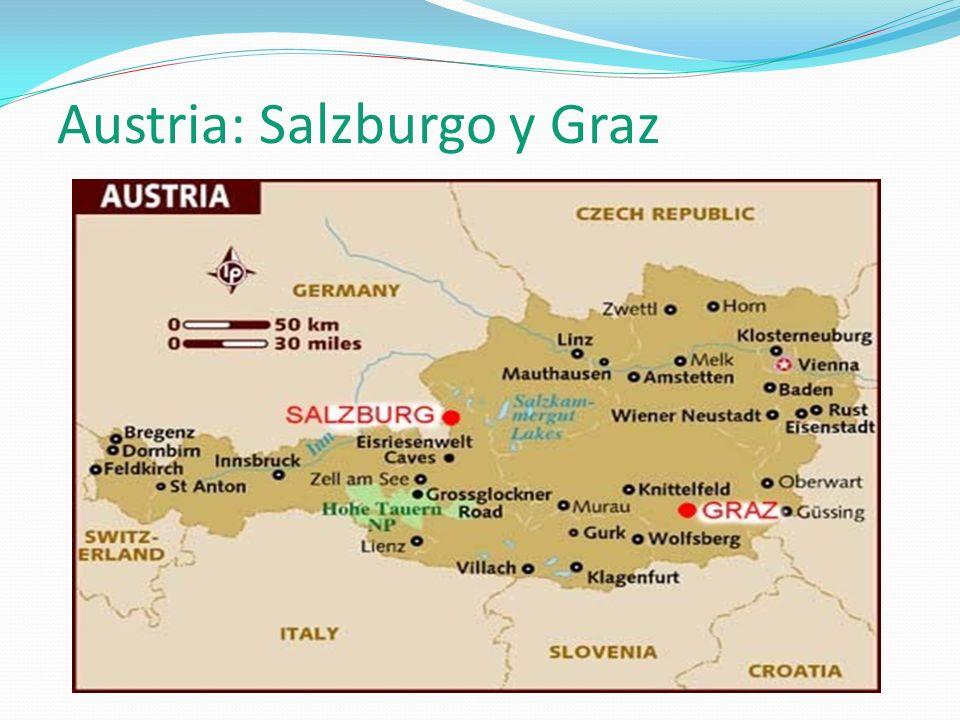 Austria: Salzburgo y Graz