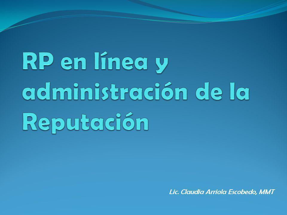 Lic. Claudia Arriola Escobedo, MMT
