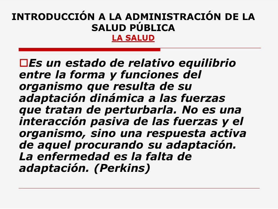 INTRODUCCIÓN A LA ADMINISTRACIÓN DE LA SALUD PÚBLICA Las Funciones Esenciales de Salud Pública se definen como: Condiciones que permiten una mejor práctica de la salud pública ( OPS Documento Preliminar noviembre 2000) JEFE 2002