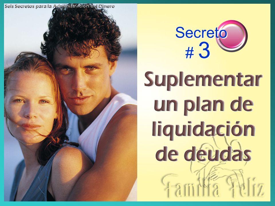 Secreto # 3 Seis Secretos para la Administración del Dinero