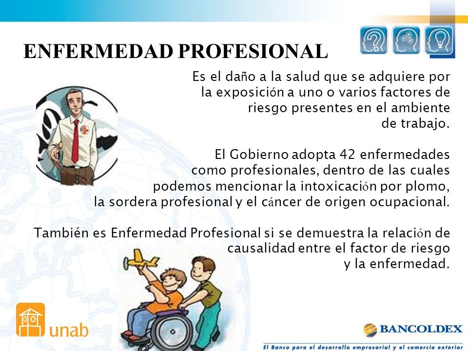 (Decisión 584 Comunidad Andina de Naciones) Es accidente de trabajo todo suceso repentino que sobrevenga por causa o con ocasión del trabajo, y que pr