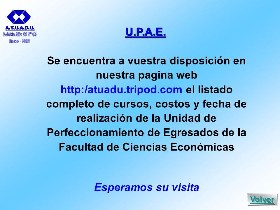 U.P.A.E. A.T.U.A.D.U.