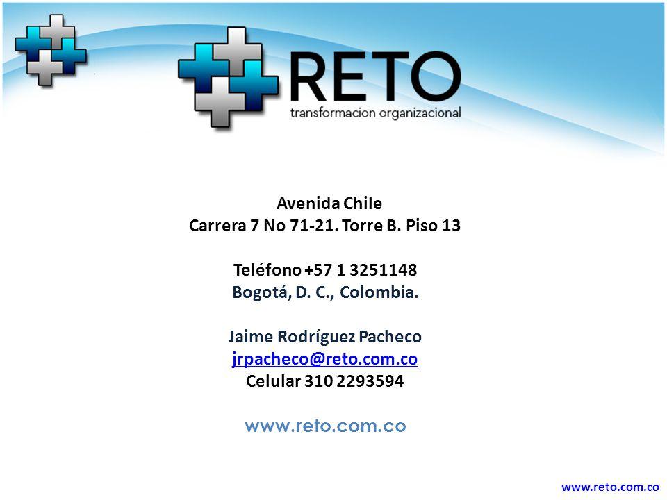 www.reto.com.co Avenida Chile Carrera 7 No 71-21.Torre B.