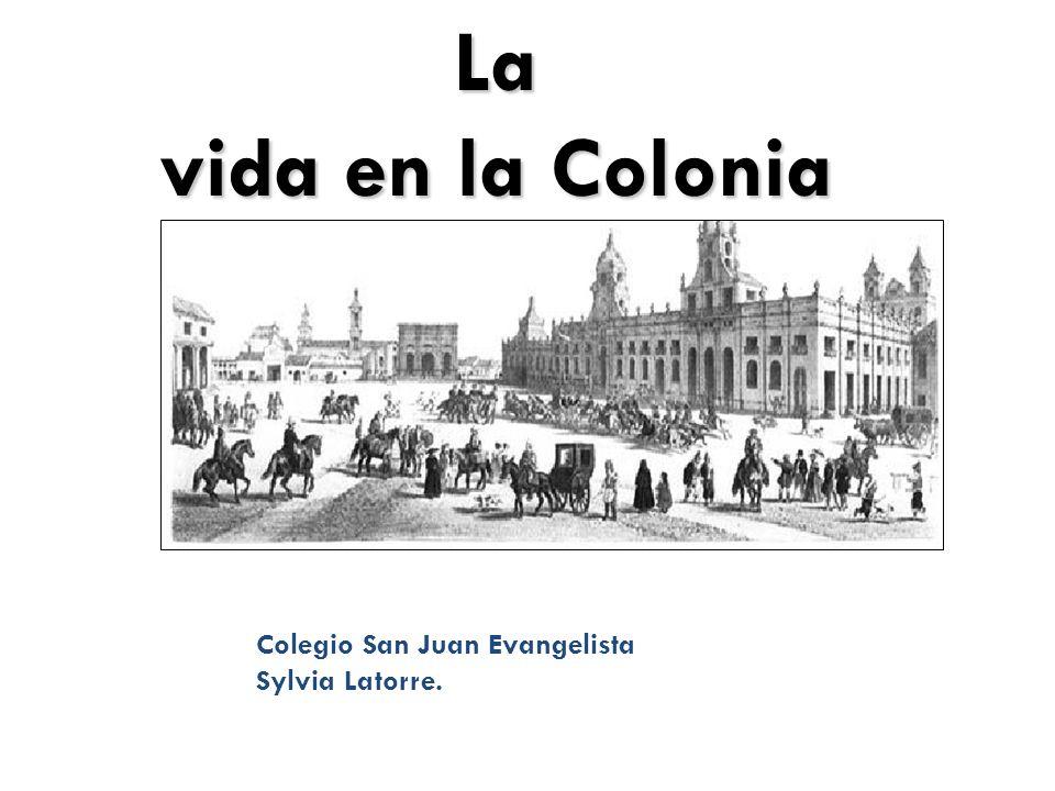 La vida en la Colonia Colegio San Juan Evangelista Sylvia Latorre.