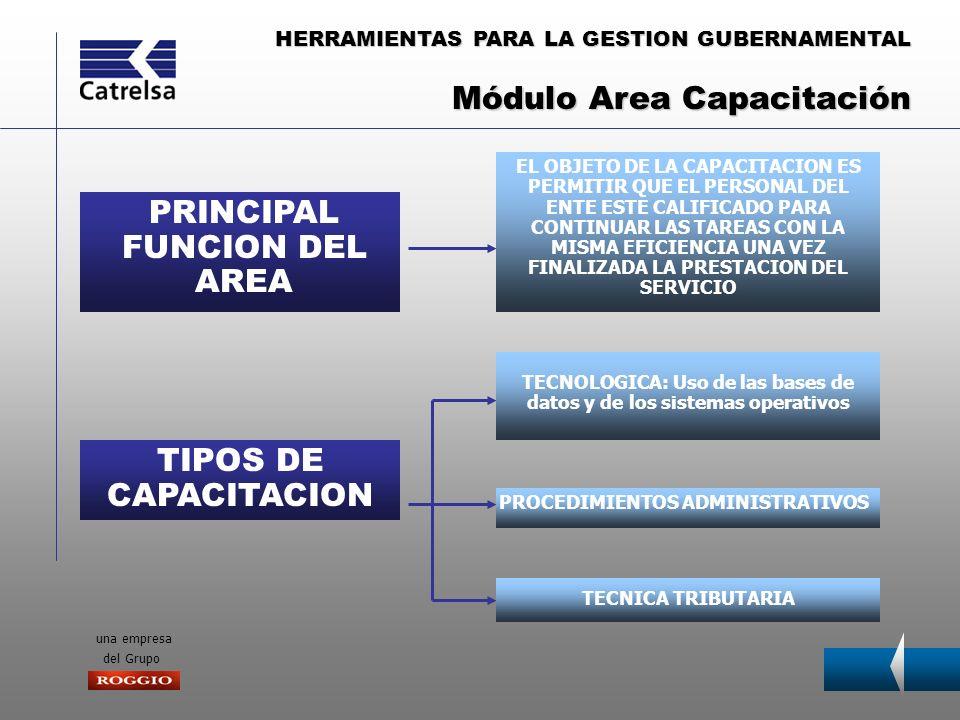 HERRAMIENTAS PARA LA GESTION GUBERNAMENTAL una empresa del Grupo Es un instrumento de valoración y conocimiento de la riqueza territorial en sus dos áreas, catastro y vía pública.