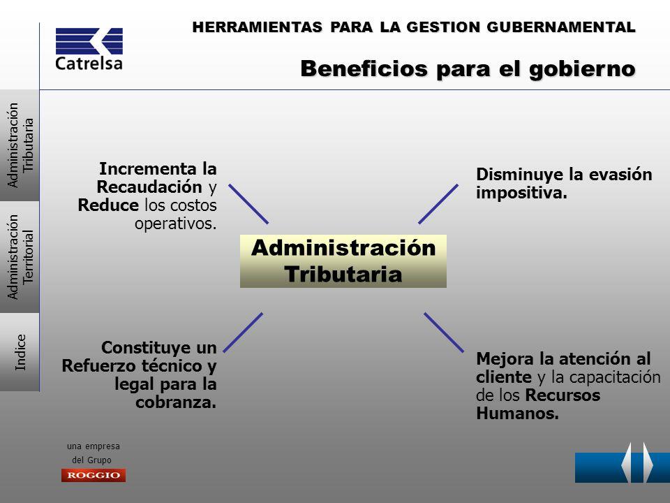 HERRAMIENTAS PARA LA GESTION GUBERNAMENTAL una empresa del Grupo Mejora la atención al cliente y la capacitación de los Recursos Humanos. Incrementa l