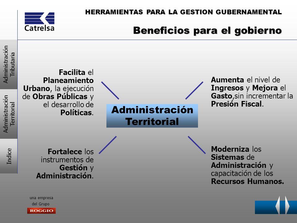 HERRAMIENTAS PARA LA GESTION GUBERNAMENTAL una empresa del Grupo CATRELSA Tiene la solución para las dos Alternativas ADMINISTRACION TRIBUTARIA TRIBUTARIA ADMINISTRACIONTERRITORIAL (Catastro – Vía Pública) ¿por dónde comenzar la consolidación de ambas áreas.