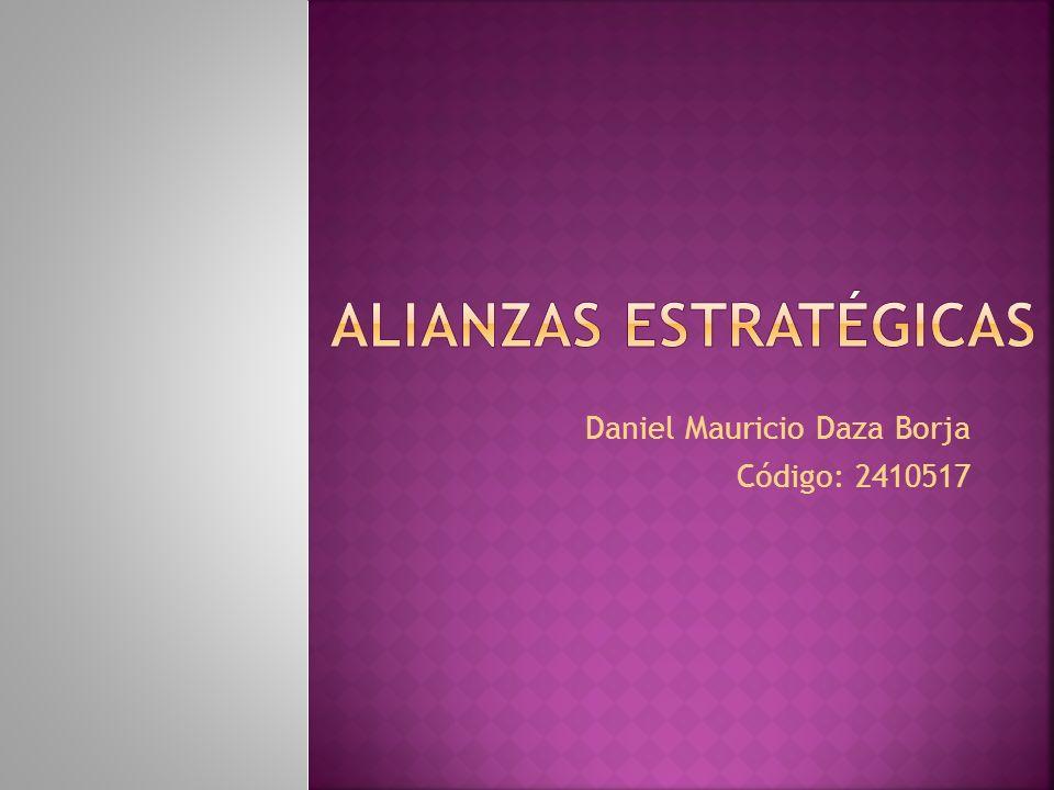 Daniel Mauricio Daza Borja Código: 2410517