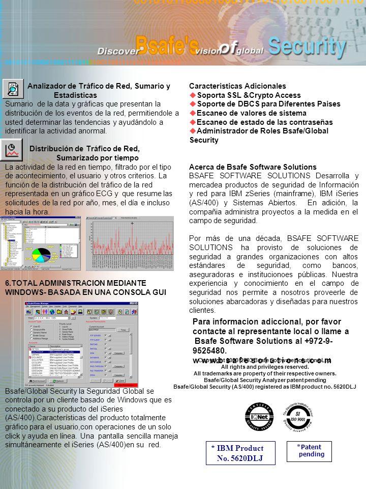 Analizador de Tráfico de Red, Sumario y Estadisticas Sumario de la data y gráficas que presentan la distribución de los eventos de la red, permitiendo