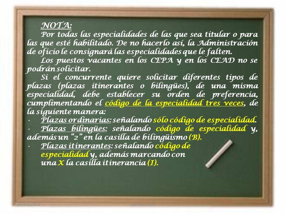 Derecho Preferente A LOCALIDAD y prelación 1. Suprimidos o con modificación de la plaza o puesto.