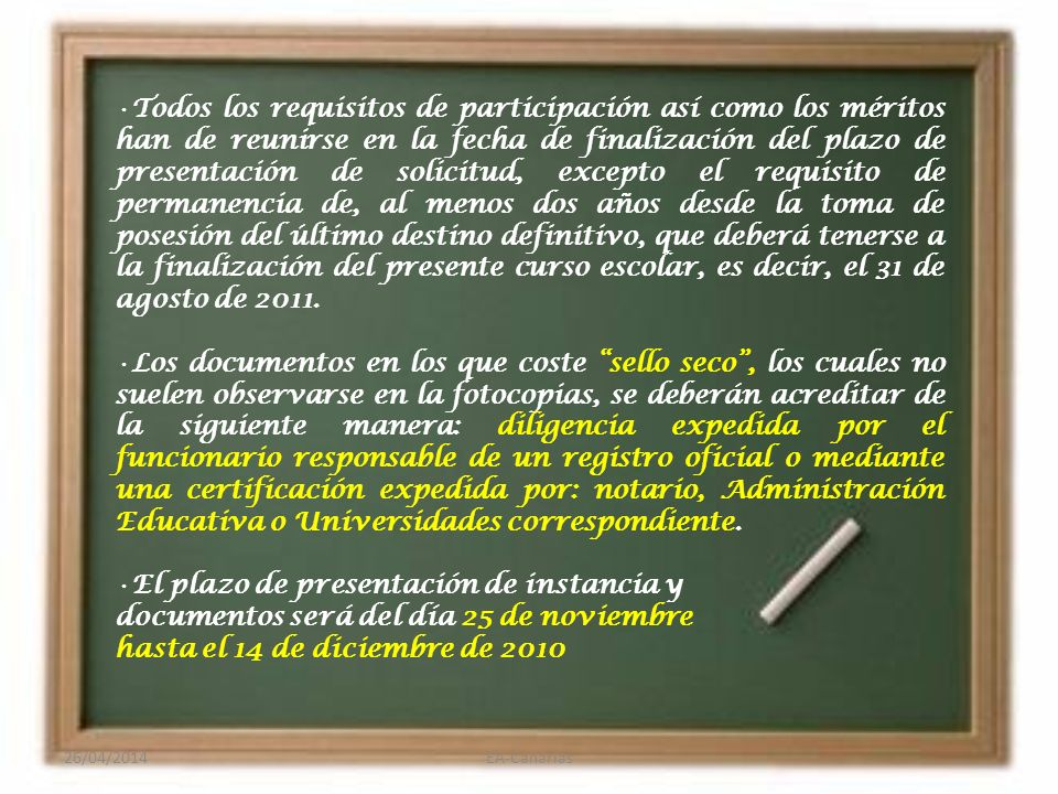 Funcionarios/as en Prácticas Se concursa con cero puntos y el orden de adjudicación se realizará teniendo en cuenta los puntos obtenidos en la oposición correspondiente.