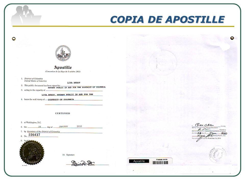 COPIA DE APOSTILLE