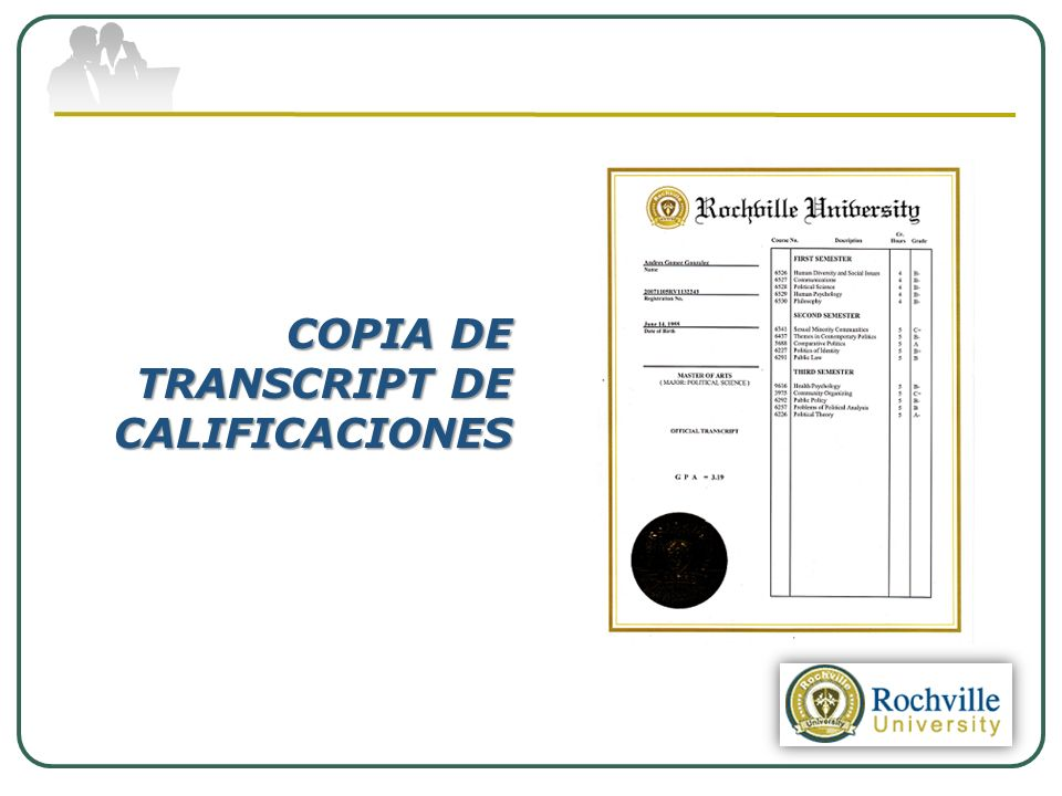 COPIA DE TRANSCRIPT DE CALIFICACIONES
