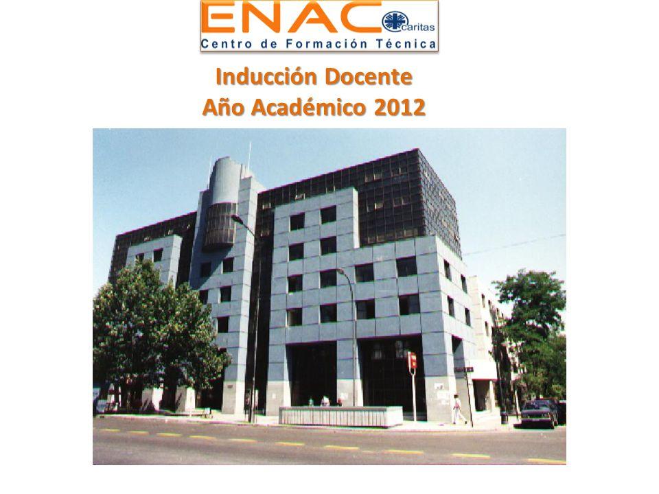Inducción Docente Año Académico 2012