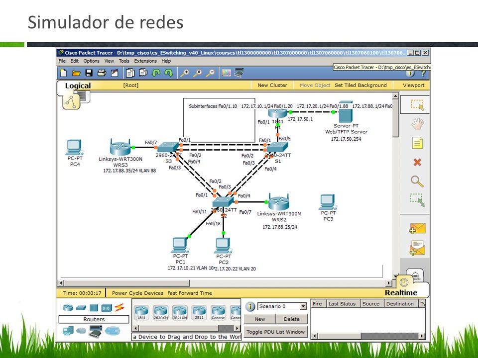 Simulador de redes