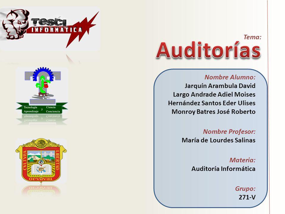 Tema: Nombre Alumno: Jarquín Arambula David Largo Andrade Adiel Moises Hernández Santos Eder Ulises Monroy Batres José Roberto Nombre Profesor: María