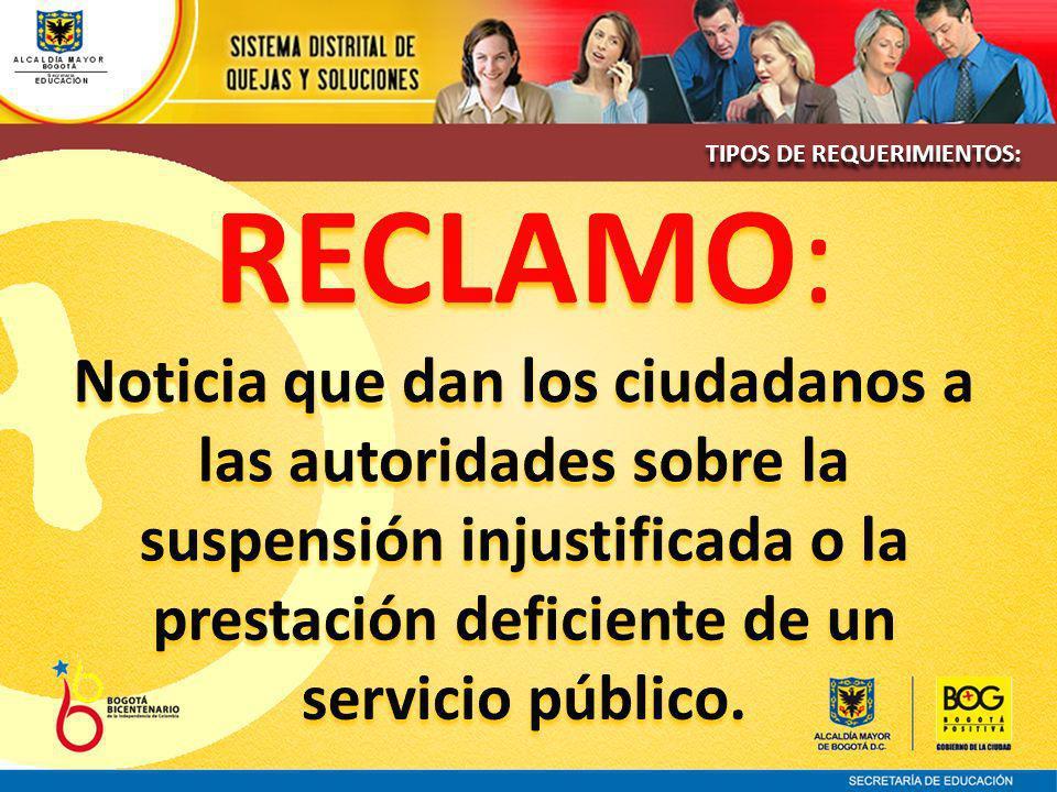 Para más información:www.sedbogota.edu.co Enlace Quejas y Soluciones Para más información:www.sedbogota.edu.co Enlace Quejas y Soluciones