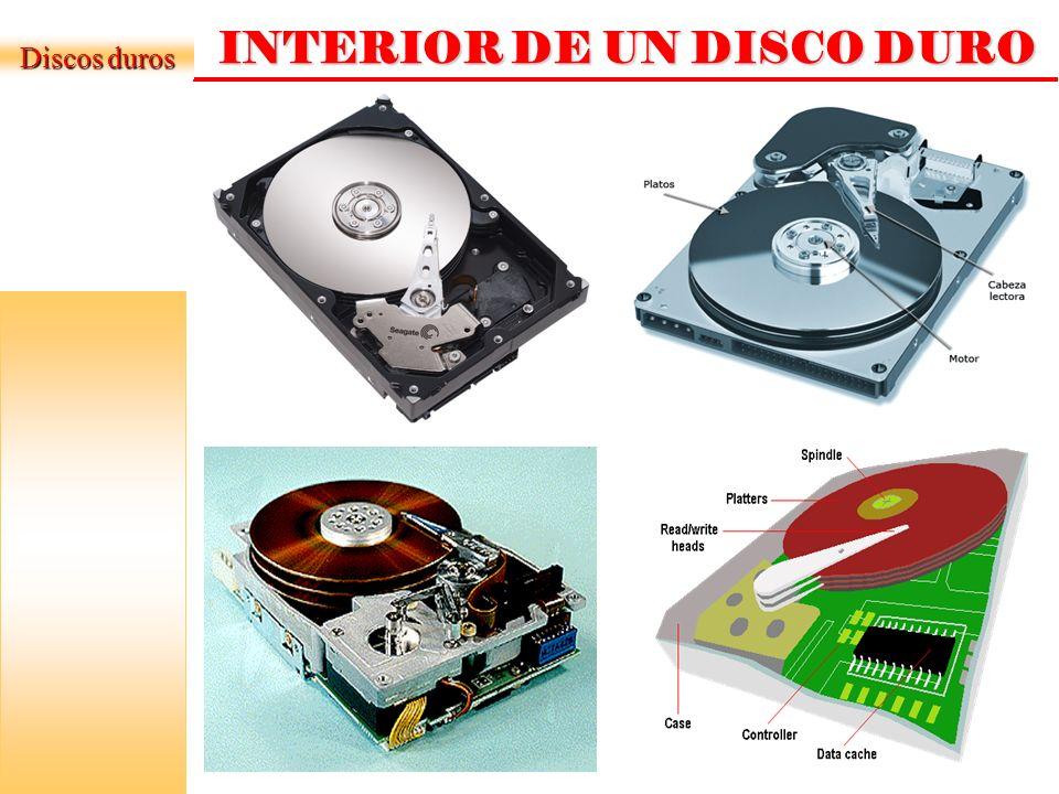 FABRICANTES DE DISCO DURO Samsung Western DigitalSeagate (Maxtor) OTROS… Discos duros Hitachi Fujitsu Quantum Corp.