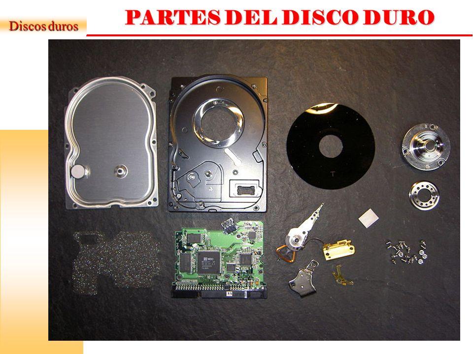 DISCO DURO IDE DONDE SE CONECTAN LOS COMPONENTES Conector IDE (SCSI/SATA) Pines de Configuración Maestro / Esclavo Conector de Energía Información Técnica Del Disco Duro Ejemplo: Caviar 22100 Drive parameters: Cyl 6280, HD 16, SEC 63, 2.15 GB.