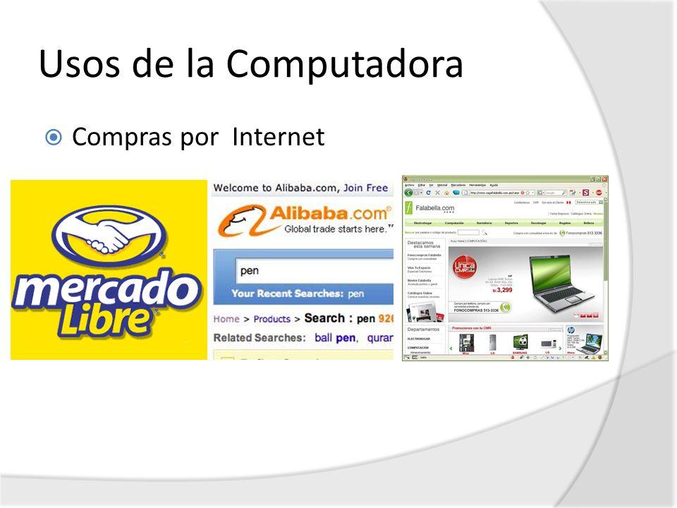 Usos de la Computadora Compras por Internet