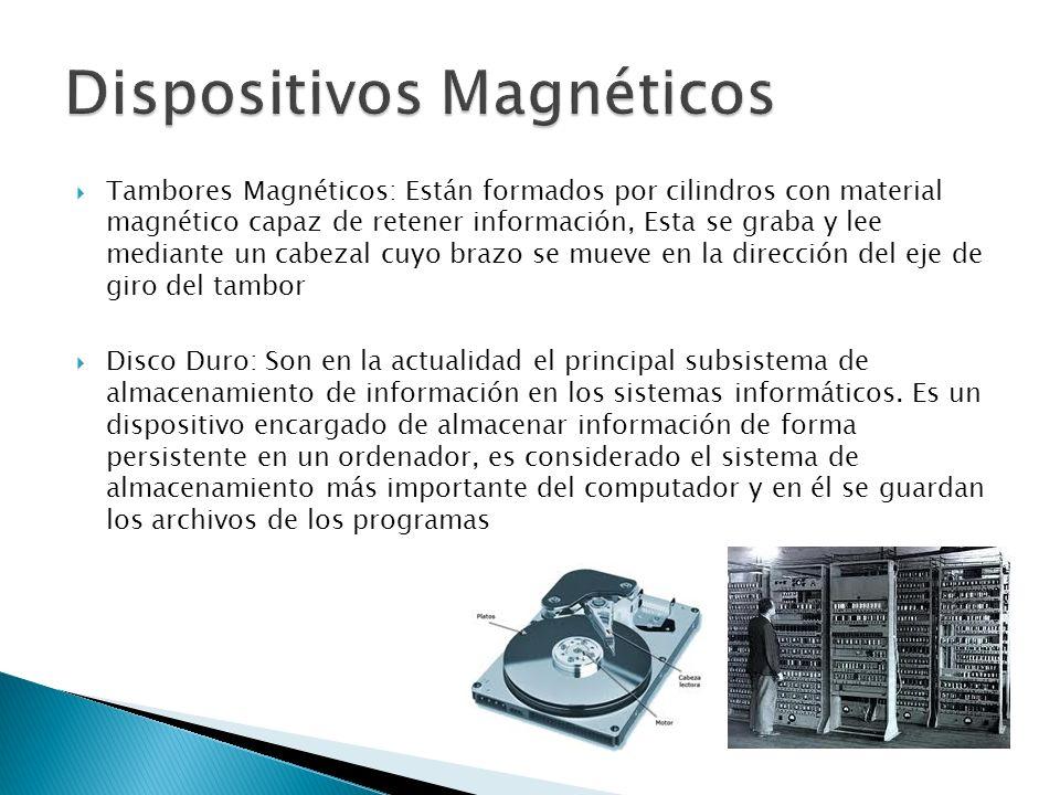 Disquette o Disco flexible: Un disco flexible o también disquette (en inglés floppy disk), es un tipo de dispositivo de almacenamiento de datos formado por una pieza circular de un material magnético que permite la grabación y lectura de datos, fino y flexible (de ahí su denominación) encerrado en una carcasa fina cuadrada o rectangular de plástico.