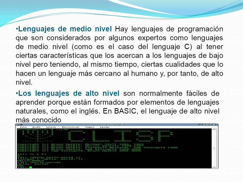 Es un lenguaje que puede ser utilizado para controlar el comportamiento de una máquina, particularmente una computadora. Consiste en un conjunto de sí