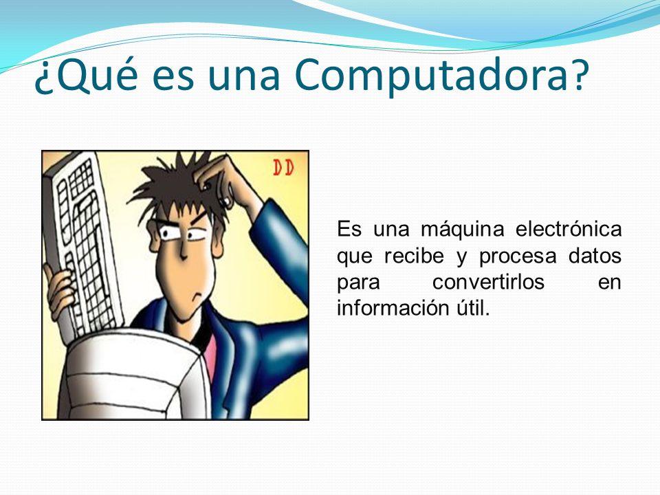¿Qué es una Computadora .