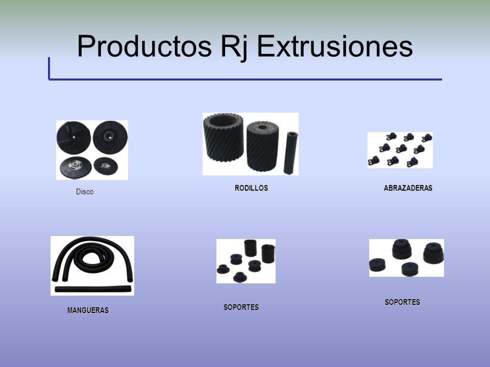 Productos Rj Extrusiones MANGUERAS MANGUERAS RODILLOS ABRAZADERAS RODILLOS ABRAZADERAS SOPORTES MOSAICO DE LOS PRODUCTOS DISCOS VARIOS SOPORTES Disco
