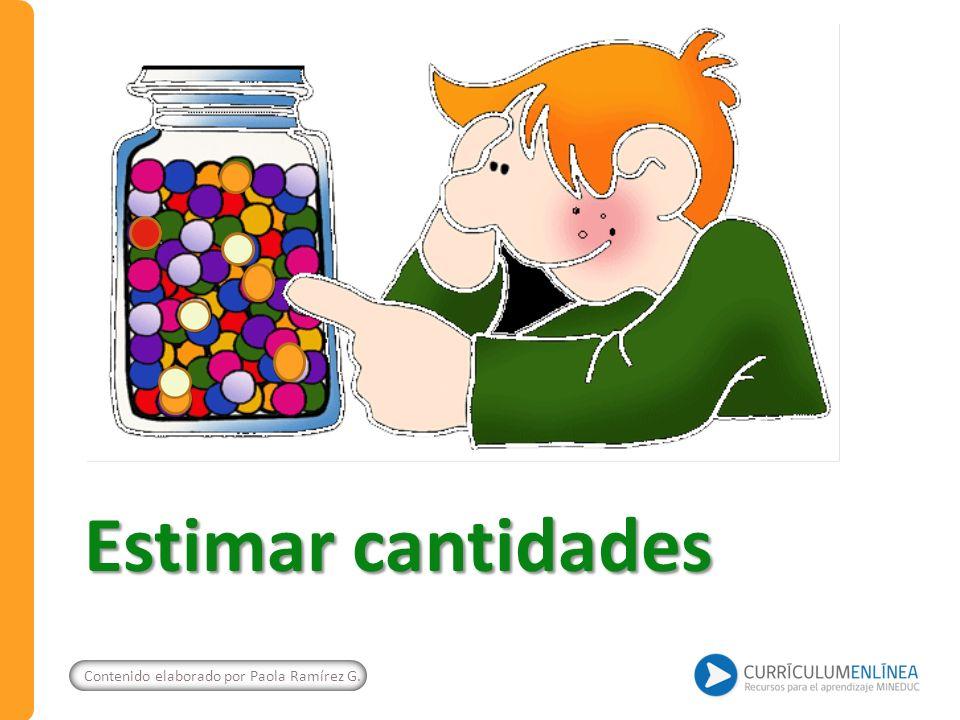 Prueba oral y escrita Susana tiene en la bandeja 10 dulces y en el frasco de vidrio: Responden las siguientes preguntas: Al estimar ¿hay más esferas o cilindros.