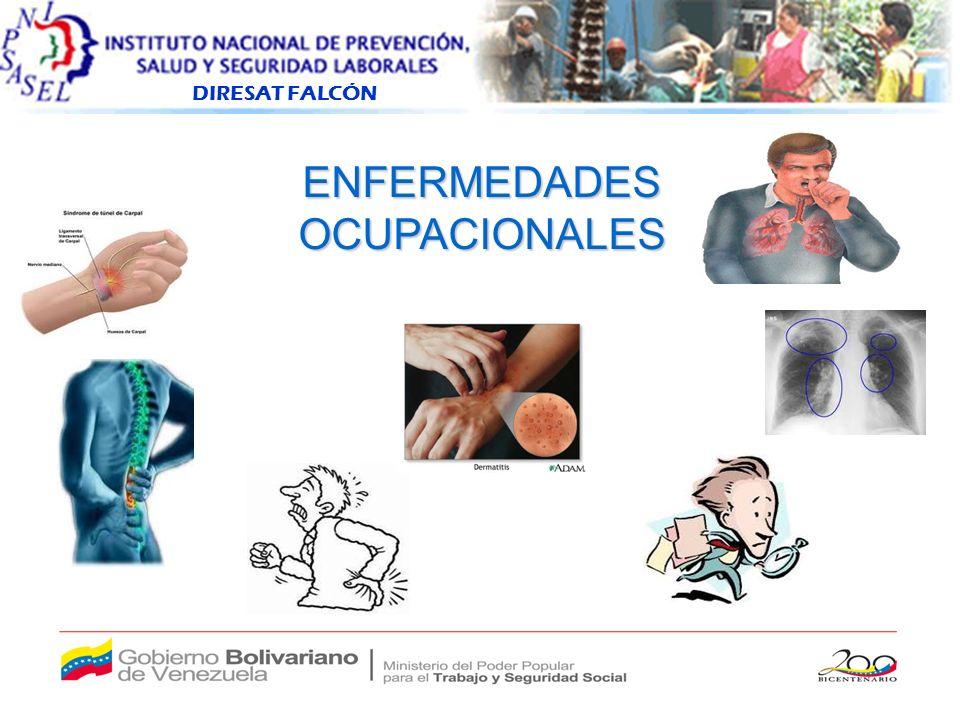 DIRESAT FALCÓN ENFERMEDADESOCUPACIONALES